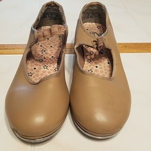 Girls ballet and tap shoes